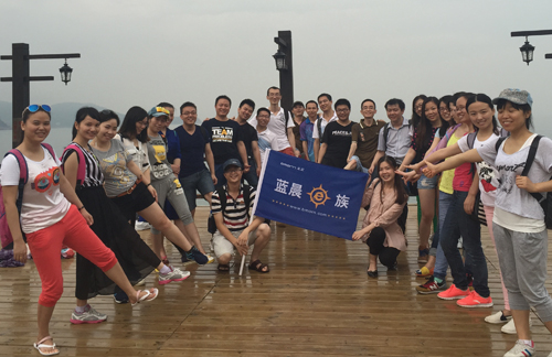 Go Hiking Together with Bmorn at Shenzhen Bay